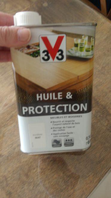 Huile de protection V33