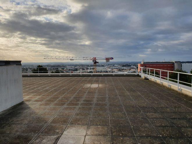 4000 m² de dalles sur plot