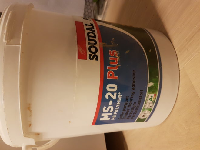 Colle parquet MS Polymer 18kg