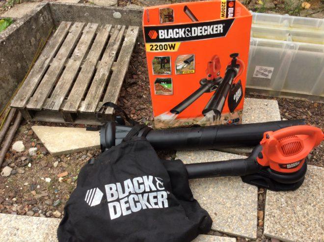 Souffleur aspirateur Black&Decker