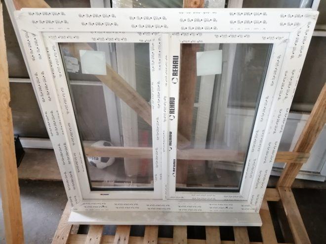 Fenêtre PVC deux vantaux dormants ouvrants (à la française) double vitrage