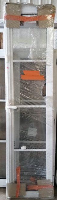 Fenêtre en bois traitement de couleur blanc dormant + ouvrant