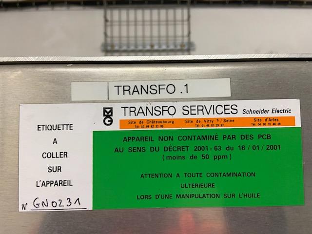 Transformateur 1000 kVA TRANSFIX