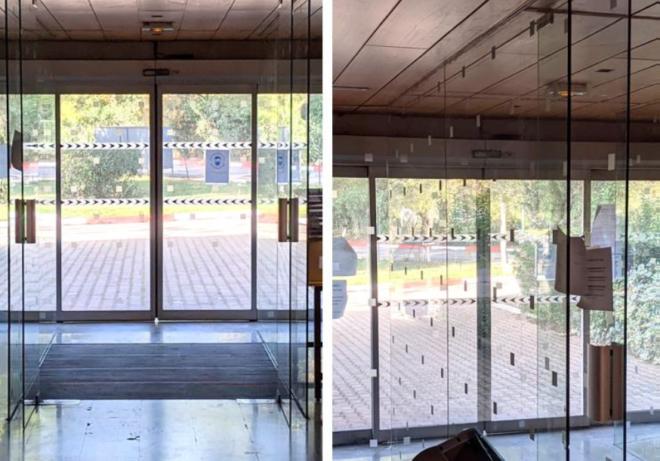Porte d'entrée double vitrée - St Jean de Vedas