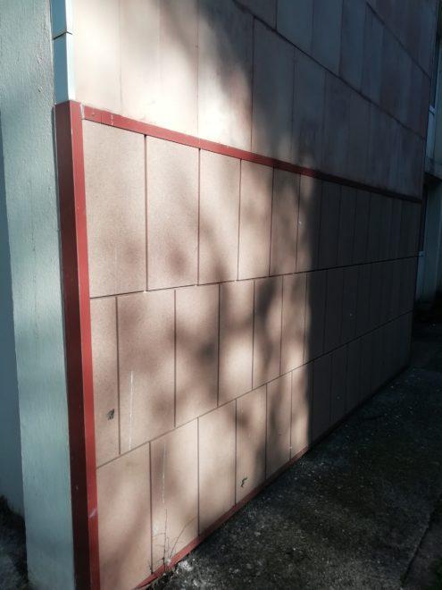 Panneau de parement de façade