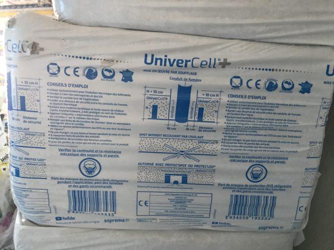 Ouate de cellulose Univercell+