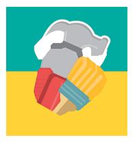 Logo de boutdechantier.com, le 1er site d'annonces dédié aux matérieux et outils de bricolage et construction